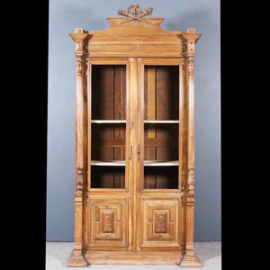 18th century, walnut, display armoire