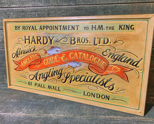 Hardy Brothers Angling Sign