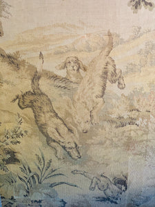 Section of a 19th century tapestry
