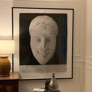 Sculpture Head - 2002 lithograph by Richard H