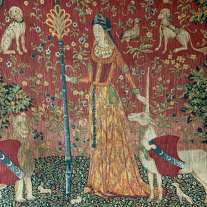 Tapestry after Lady as a Unicorn