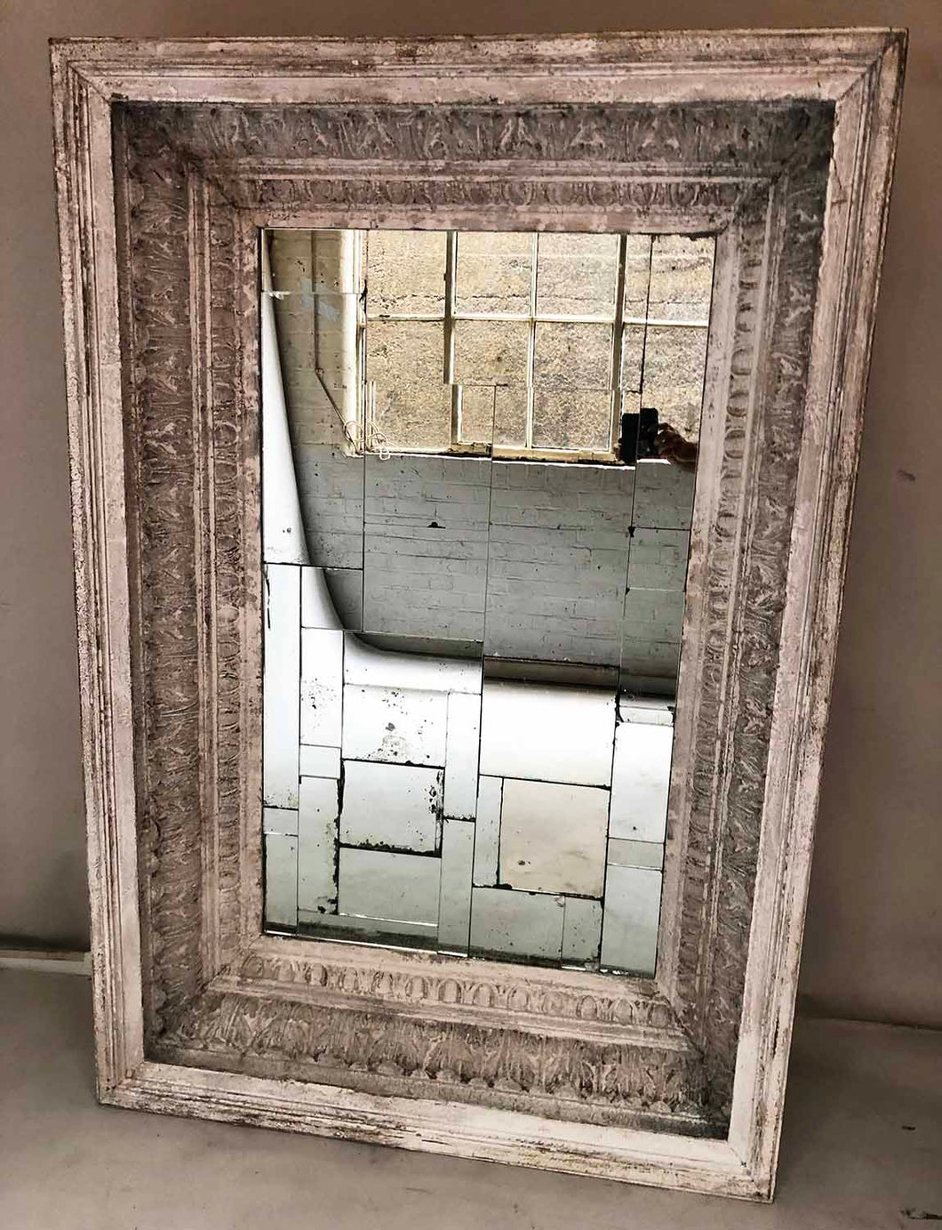 Large architectural mirror