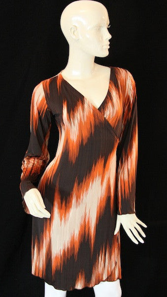Wildfire Faux Wrap Dress