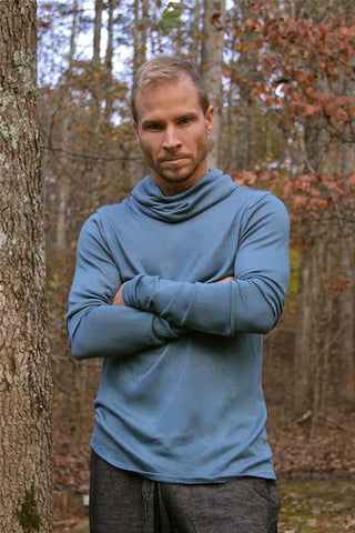 B&G Turtle Neck - Teal Blue