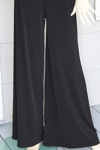 Black Fabby Pants