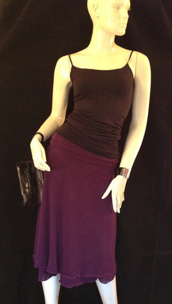 Chippy Skirt - Plum
