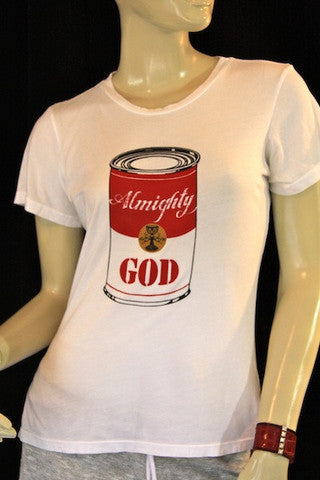 God Can T-Shirt Crew Neck