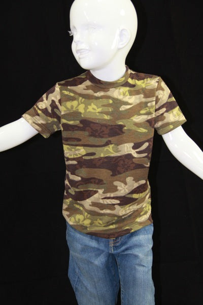 Kids Camo T (Hawaiian)