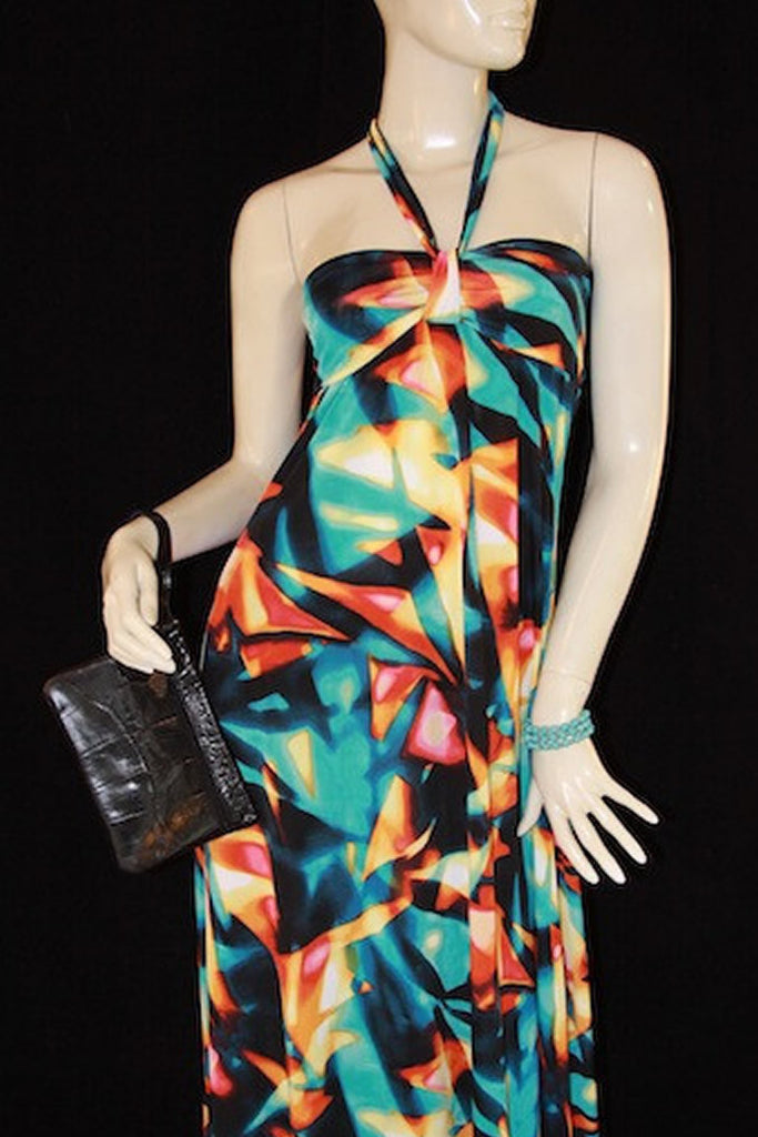 Anytime Abstract Dress