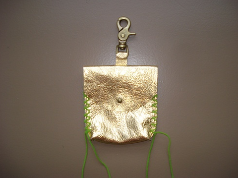 Gold MuMu Bag