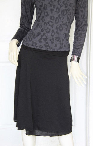 Chippy Skirt - Black