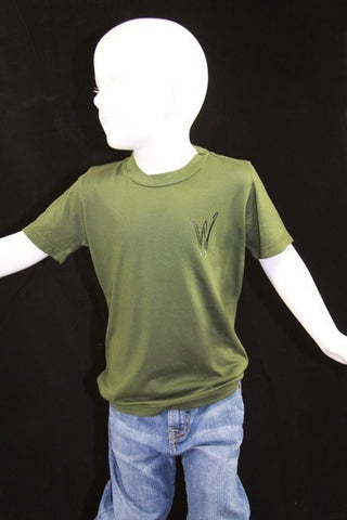 Kids BriLeigh Olive Green Shirt