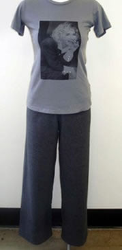 Grey Terry Cloth Pants