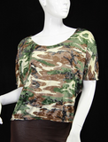 Lacey Camo Top