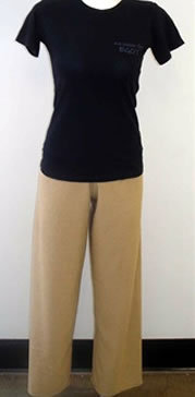 Caffe Latte Terry Cloth Pants