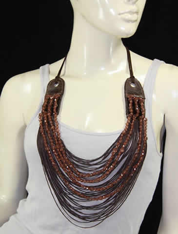 Urban Leather Necklace