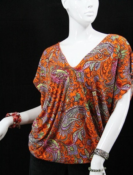 Mariposa Blouse (Orange)