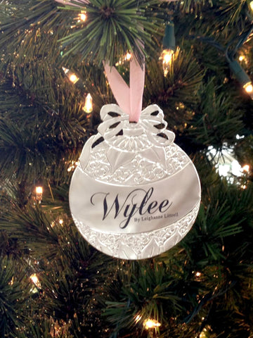 Wylee Christmas Ornament