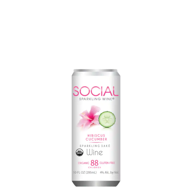 Social Sparkling Candle
