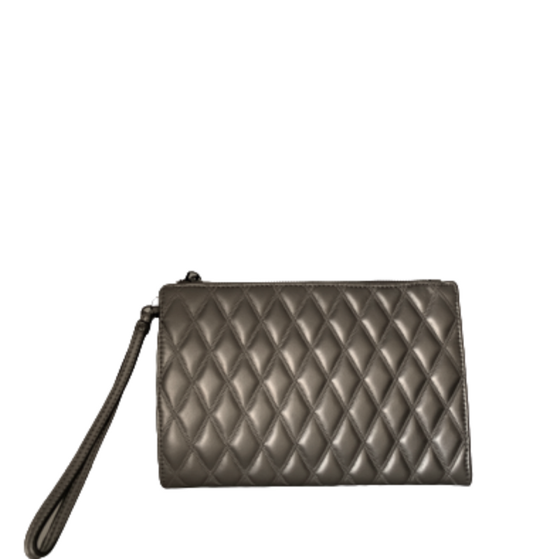 Quilted Nappa Wristlet