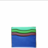 Colorblock Mini Card Wallet