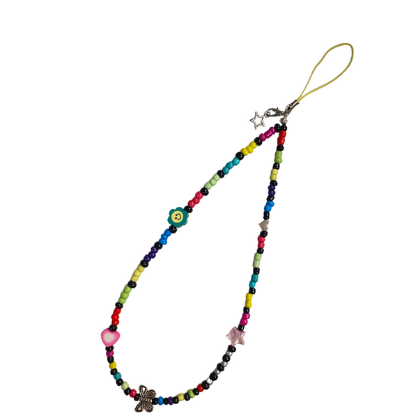 Phone Charm Wristlet - Chain Refraction