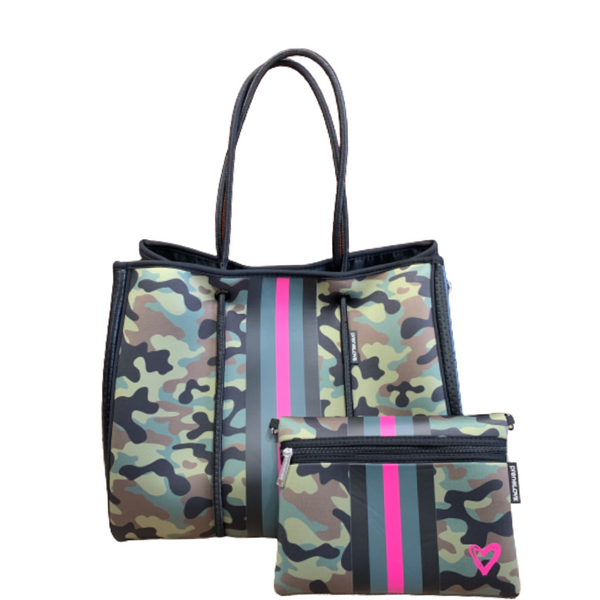Pink Army Tote