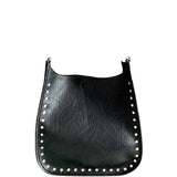 Black Studded Messenger - No Strap Included!