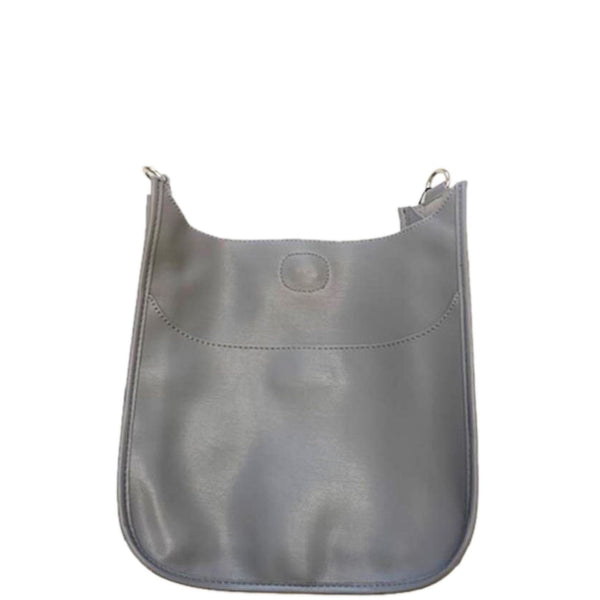 Soft Faux Leather Messenger - Strap not included