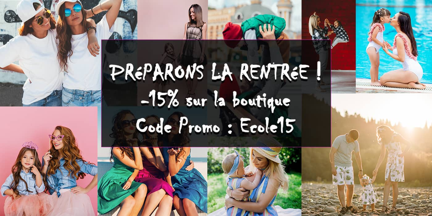 vetement assorti promo