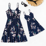 Robe Florale Mere Fille