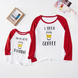 Pull Mere Fille COFFEE Pull Mere Fille Mon Mini Moi
