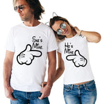 T Shirt Couple Disney T Shirt Couple Mon Mini Moi