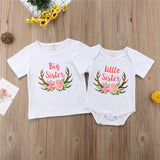 T Shirt Famille Assorti - Big & Lil Sister T Shirt Assorti Mon Mini Moi