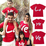 T Shirt Famille Assorti Love T Shirt Assorti Mon Mini Moi