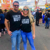 2019 NEW Valentine Gifts Couple Matching T-shirt Funny Letter BEARD BUTT Sweet Lovers Brand Tops Short Sleeve Basic O Neck Tees T Shirt Couple Mon Mini Moi