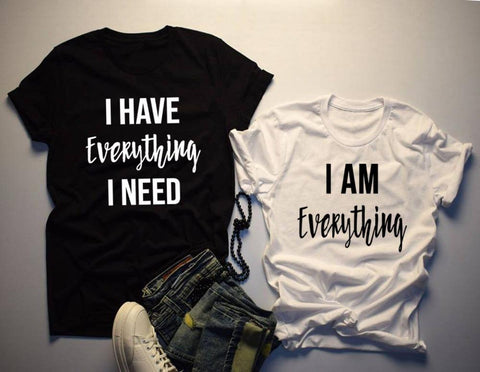 Tee shirt couple - Everything OMSJ No.01 Store