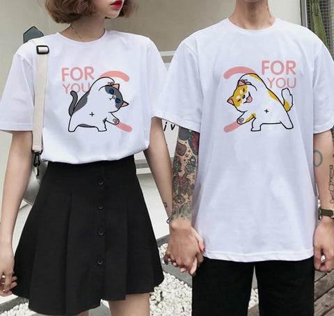 Tee shirt couple - FOR YOU T-Shirts mone Store