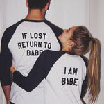 Tee shirt couple - LOST Manches longues OMSJ No.01 Store