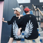 Tee shirt couple - WINGS T-Shirts Mavis flagship store