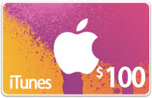 iTunes Gift Cards (Vouchers)
