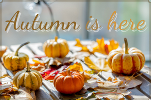 Autumn is here, enjoy the flavors of the season