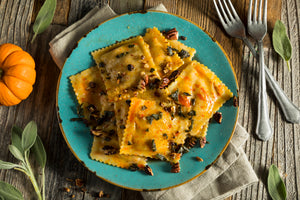 Tortelli alla MANTOVANA with Pumpkin