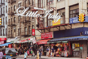 LITTLE ITALY in NEW YORK: Smaller But Still Loud