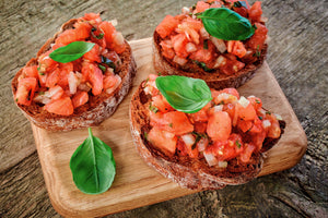 BRUSCHETTA, The Classic Italian Antipasto