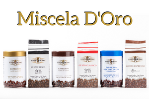 Miscela d'Oro, the story of traditional Italian coffee