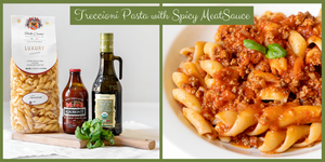 Treccioni with Spicy Meat Sauce