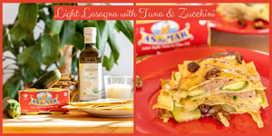 Light Lasagna with Tuna, Zucchini & Olives