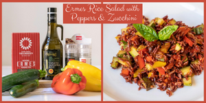 Ermes Rice Salad with Peppers & Zucchini