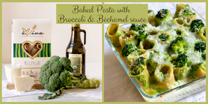 Baked Pasta with Broccoli and Béchamel sauce